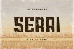 Web Font SERRI Font Product Image 1