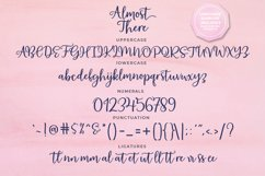 Almost There Script Typeface Product Image 4