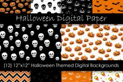 Halloween Patterns & Digital Papers Product Image 1