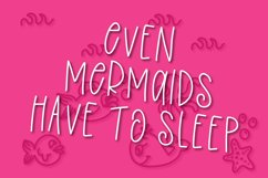 Overboard - A Mermaid Font Duo - Dingbat Font Product Image 2