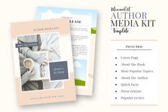 Minimalist Author Media Kit   Media Kit Template Product Image 2