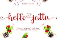 Hello Jatta - Web Font Product Image 1