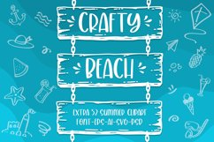 Crafty Beach -extra summer clipart- Product Image 1