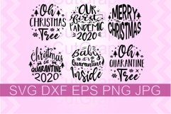 Covid Christmas Ornaments SVG PNG DXF Product Image 1