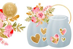 Wedding Day & Marriage Clipart Set Product Image 3