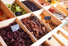Variety of sun-dried berries and fruits Product Image 1
