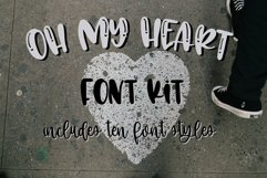 Oh My Heart Font Kit 10 Fonts Product Image 1