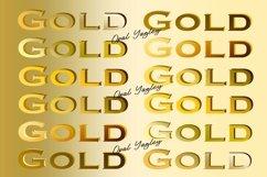 Gold Gradient Procreate Color Palette / Metallic Colors Product Image 3