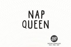 Nap queen|SVG| PNG|DXF Product Image 3