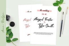 Anna Rosselyn | Elegant Handwriting Script Font Product Image 3