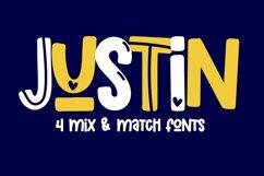 Boyfriend - A Mix & Match Font Quad Product Image 3