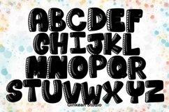 Alphabet brushes, 26 Alphabets brush stamp procreate Product Image 3