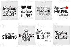 Teacher SVG Bundle, Best Seller. Product Image 5