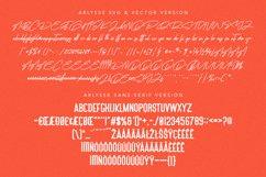Arlysse SVG Brush Font Free Sans Serif Typeface Product Image 5