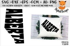 Alberta Canadian Province Word Art Product Image 1