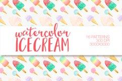 Watercolor icecream Product Image 2