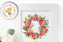 Peony and Gold leaf Product Image 7