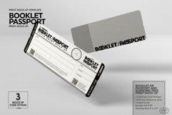 Booklet Passport Print MockUp Product Image 5