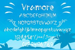 Vramore Summer Font Product Image 2