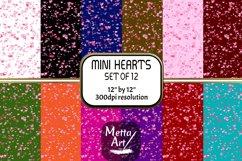 "12 Designs - 12"" x 12"" - Mini Hearts Product Image 1"