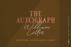 William Letter Signature Script Product Image 1