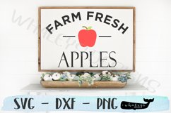 Farm Fresh Apples- Fall, Thanksgiving, Autumn, Halloween Product Image 1