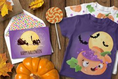 CRAZY HALLOWEEN Hand Drawn Flat Style Vector Set Product Image 2