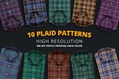 10 Plaid Patterns Product Image 1