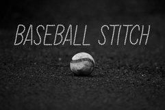 Baseball Stitch Font Product Image 2