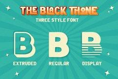Black Thone - Vintage Display Font Product Image 7