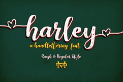 Harley Script Product Image 1