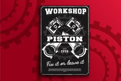 Piston Workshop Flyer Product Image 1