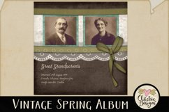 Digital Scrapbooking Quick Page Album - Layout Templates Product Image 2