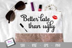 Makeup Bundle - 8 Makeup Bag SVG Designs Product Image 4