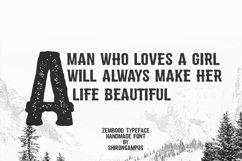 Zembood Typeface Product Image 2