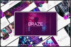 Braze Innovative Keynote Template Product Image 1