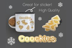 Christmas cookies clipart vol.3 Product Image 4