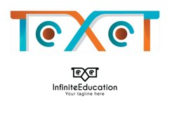 Infinite Education - Simple Abstract Owl Bird Stock Logo Product Image 3