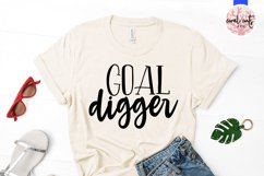 Goal digger - Women Entrepreneurship EPS SVG DXF PNG Product Image 2
