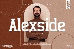 Alexside - Premium Slab Font Product Image 1