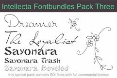 Intellecta Fontbundles Pack Three Product Image 1