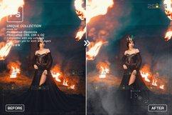 Smoke backgrounds & Smoke bomb overlay, Photoshop overlay Product Image 5