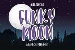 Funky Moon - a handwritten fun font Product Image 1