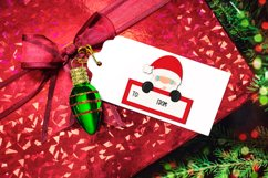Christmas Gift Tag Sticker Bundle - Sticker PNG Product Image 2