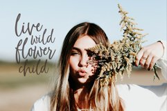 Whimsical modern brush font, Flower Child Product Image 3