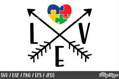 Autism Teacher, SVG Bundle of 10 Designs, DXF PNG Cut Files Product Image 2