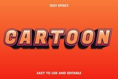 Cartoon text effect. editable and easy to use. Product Image 1