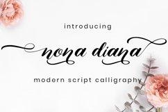 Nona Diana Script Product Image 1