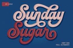 Sunday Sugar Script Font Product Image 1