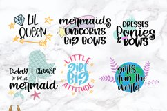 Little Girl Bundle of 6 SVGs Product Image 5